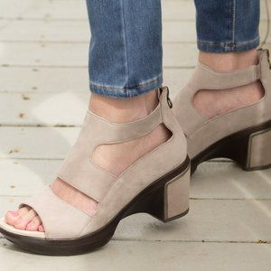 Women's Jambu taupe sandals